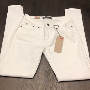 Levi's white jeggings